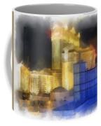 Las Vegas The Palace Photo Art Coffee Mug