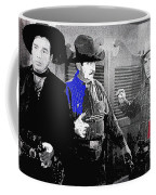 Lash Larue And Charles King Law Of The Lash Publicity Photo 1947 Coffee Mug