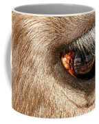 Lashes Coffee Mug by Diana Angstadt