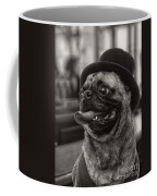 Last Call Pug Greeting Card Coffee Mug