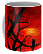 Last Leaves Of Autumn Coffee Mug