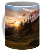 Last Light At Cedar Coffee Mug by Chad Dutson