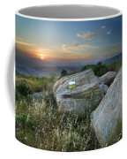 Last Light At The Windy Mountains Coffee Mug