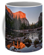 Last Light At Valley View Coffee Mug