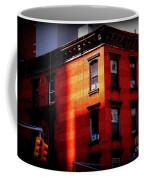 Last Rays Of The Sun - Old Buildings Of New York Coffee Mug