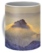 Last Sunset Light In The Clouds Coffee Mug