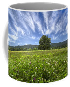 Last Tree Coffee Mug by Debra and Dave Vanderlaan