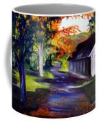 Late Afternoon Sun Coffee Mug