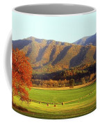Late Autumn Afternoon In Cades Cove Coffee Mug