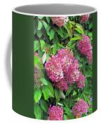Late Hydrangea Flower Coffee Mug
