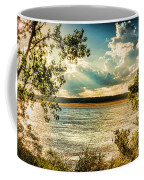 Late Summer Afternoon On The Mississippi Coffee Mug