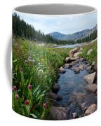 Late Summer Mountain Landscape Coffee Mug