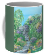 Late Summer On The White River Coffee Mug