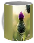 Late Summer Thistle Coffee Mug