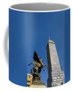 Latin American Tower And Statue Coffee Mug