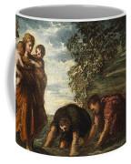 Latona Changing The Lycian Peasants Into Frogs Coffee Mug