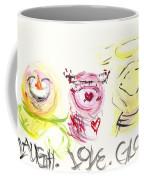 Laugh Love Glow Coffee Mug