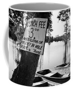 Launch Fee -bw Coffee Mug