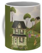 Laundry Day Coffee Mug by Catherine Holman