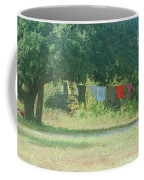 Laundry Hanging From The Tree Coffee Mug
