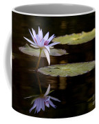 Lavendar Reflections In The Lake Coffee Mug