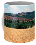 Lavender And Corn Fields In Summer Coffee Mug