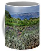 Lavender And Sunflowers Coffee Mug