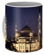 Lavender Brocade Coffee Mug