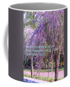 Lavender Butterfly Bush Coffee Mug