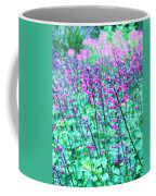 Lavender Color Flowers Coffee Mug