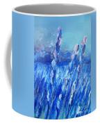 Lavender Field Landscape Coffee Mug