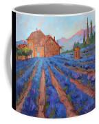 Lavender Field Provence Coffee Mug