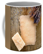 Lavender Flowers And Soap Coffee Mug by Olivier Le Queinec
