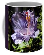 Lavender Hibiscus Coffee Mug