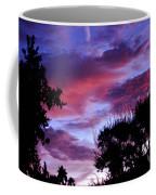 Lavender Pink And Blue Sunrise Coffee Mug
