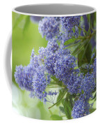 Lavender Pompoms Coffee Mug