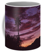 Lavender Red And Gold Sunrise Coffee Mug