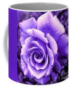 Lavender Rose With Brushstrokes Coffee Mug