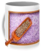 Lavender Seeds And Bath Salts Coffee Mug by Olivier Le Queinec