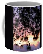 Lavender Sunset Painting Coffee Mug