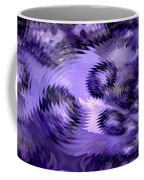 Lavender Water Abstract Coffee Mug
