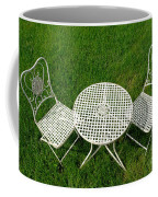 Lawn Furniture Coffee Mug by Olivier Le Queinec