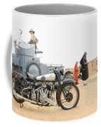 Lawrence Of Arabia Display At The Goodwood Revival Meeting Coffee Mug