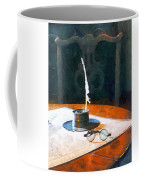 Lawyer - Quill And Spectacles Coffee Mug