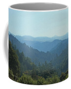 Layers Of Forest And Bllue Sky Coffee Mug