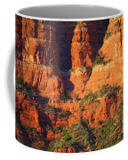 Layers Of Red Rock Coffee Mug
