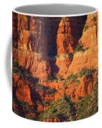 Layers Of Red Rock Coffee Mug