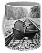 Laying Down Some Tracks Coffee Mug by Scott Pellegrin