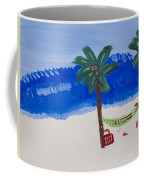 Lazy Beach Coffee Mug by Melissa Dawn