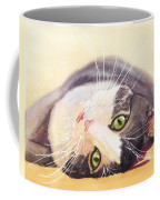 Lazy Kitty Coffee Mug